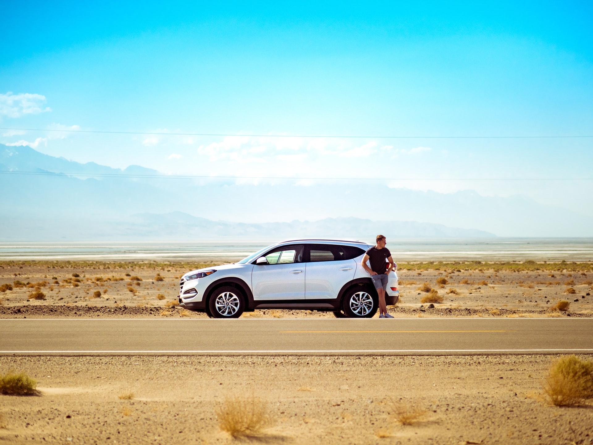 רכב בצד הכביש – ביטוח רכב פרטי